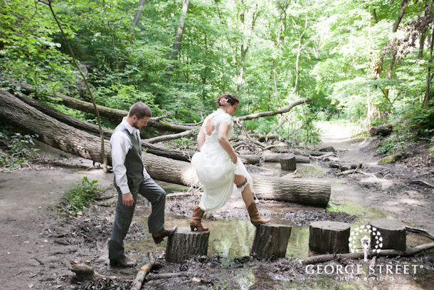 Charming Starved Rock Wedding Wedding Inspiration From George Street